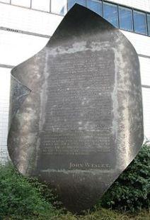 John_Wesley_memorial_Aldersgate