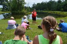 Family Devotion at HC pond
