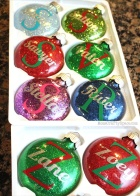 Christmas Glitter+Ornaments