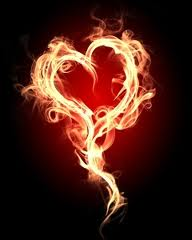 passion burning heart